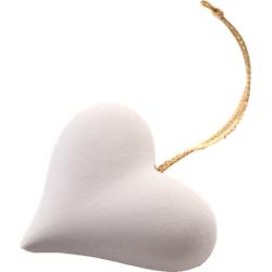 DUFTSTEIN Set Herz weiß 1 P