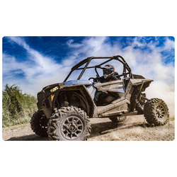 DesFoli Wandtattoo Buggy Offroad Piste Sportmotor R2538 150 cm x 98 cm