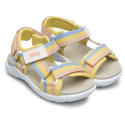 Camper OUSW Sandale mit Streifen gelb 26