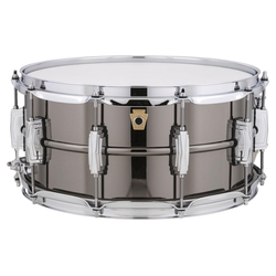 Ludwig LB417 Black Beauty Snare Drum 14