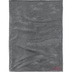 Wohndecke Flausch, TOM TAILOR, mit Logo grau
