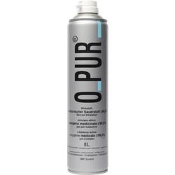 O PUR Sauerstoff Dose f.Maske Spray 8 L