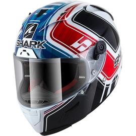 SHARK Race-R Pro Zarco GP France White/Blau/Red