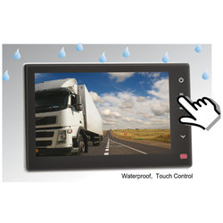 CRV 7007 Quad Monitor - IP68 wasserdicht