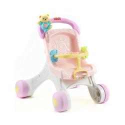 Mattel® Lauflernwagen Fisher-Price Puppenwagen (rosa), Lauflernwagen