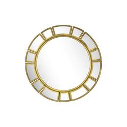 KUNSTLOFT Wandspiegel Spiegel der Königin, handgefertigter Deko-Spiegel aus Metall
