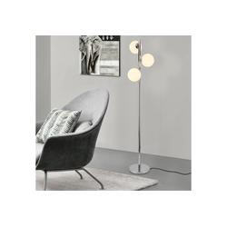 lux.pro Stehlampe, Stylische Stehleuchte Gent - 3-flammig