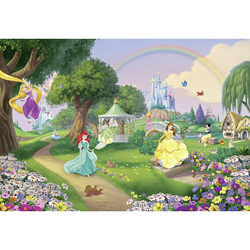 Fototapete SUNNY DECOR, Princess Rainbow, 8 Teile, BxH 368 x 254 cm