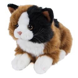 Teddys Rothenburg Kuscheltier Katze Alma 30 cm (mit Schwanz) Glückskatze (Stofftiere Katzen Plüschtiere, Plüschkatze Stoffkatze)