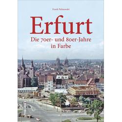 Erfurt als Buch von Frank Palmowski