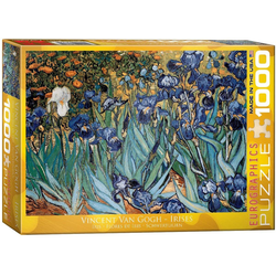 empireposter Puzzle Vincent van Gogh - Iris Schwertlilien - 1000 Teile Puzzle im Format 68x48 cm, 1000 Puzzleteile