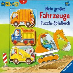 Ravensburger ministeps - Mein großes Fahrzeuge Puzzle-Spielbuch
