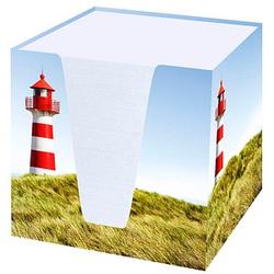 RNK-Verlag Zettelbox Leuchtturm weiß
