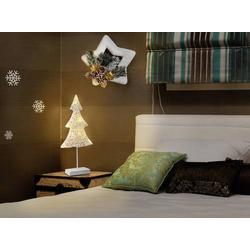 Polarlite LBA-51-005 LED-Fensterbild Weihnachtsbaum LED Weiß