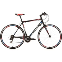 KS-CYCLING Velocity Fitnessbike 28 Zoll RH 53 cm schwarz