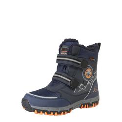 KAPPA Snowboots 'RESCUE TEX' navy / orange / grau, Größe 35, 4424399