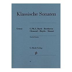 Klassische Klaviersonaten. Klassische Klaviersonaten  - Buch
