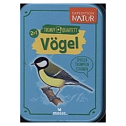 Unsere Vögel Quartett (Kartenspiel)