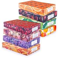 pajoma Duft Teelichte 240 Stück Duftkerzen frische fruchtige Frühjahr Sommer Düfte, 8X 30 Teelichte