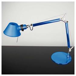 Artemide Tischleuchte Tolomeo Micro mit Fuss blau