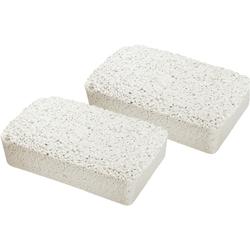 WENKO Nachfüllpaket für Luftentfeuchter Feuchtigkeitskiller, 2 x 2 kg Nachfüllpack weiß