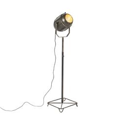 Industrielle Stehlampe Bronze 140 cm - Broca
