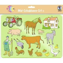 Mal-Schablonen 'Set 3'