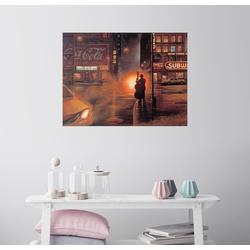 Posterlounge Wandbild, Blues Cafe 80 cm x 60 cm