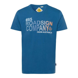 ROADSIGN australia T-Shirt Roadsign Company blau XXL (58)
