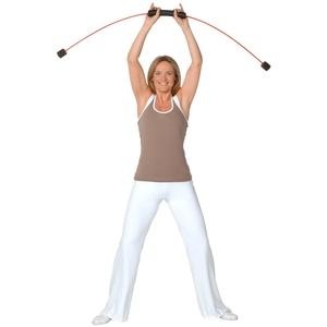 FLEXI-BAR® Standard, hochbelastbarer Schwingstab von Flexi-Sports mit Einführungs-DVD und Trainingsplan, Schwungstab, Schwingstick