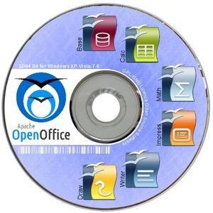 Open Office 4.1.7 PROGRAMM für Windows 10 7 8 Vista Text Grafik Tabelle BÜRO NEU