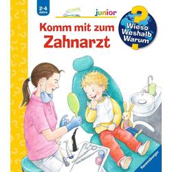 Komm mit zum Zahnarzt als Buch von Doris Rübel