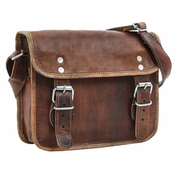 Gusti Leder Handtasche Jane M. 7,9