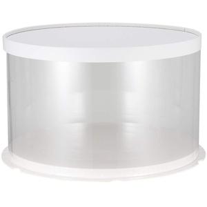 UPKOCH Kuchenbehälter rund mit Haube Kuchentransportbox Deko Kuchenbox mit Deckel Tortenplatte für Shophaus