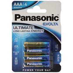 Panasonic EVOIA Batterie die neue Alkaline Batterien Micro/AAA