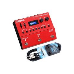 Boss by Roland E-Gitarre Boss RC-500 Looper Pedal + Gitarrenkabel 3m