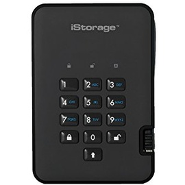 iStorage DiskAshur 2 2TB USB 3.1 schwarz (IS-DA2-256-2000-B)