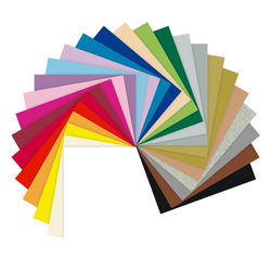 Folia Papierkarton, 50 x 70 cm, 130 g/m² rot