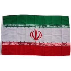 XXL Flagge Iran 250 x 150 cm Fahne mit 3 Ösen 100g/m² Stoffgewicht
