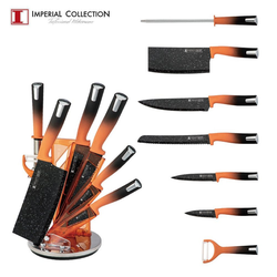Imperial Collection Messer-Set Imperial Collection IM-SL8: Set mit 8 Messern mit (8-tlg) orange