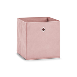 Zeller Aufbewahrungsbox in rose, 28 x 28