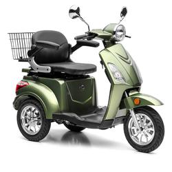 Nova Motors Bendi grün elektro Dreirad-Motorroller Elektromobil Seniorenmobil Modell 2020 - Standard - 20 km/h