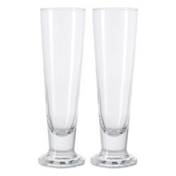 LEONARDO Bierglas Beer Generation Pilsglas 2er Set, Glas