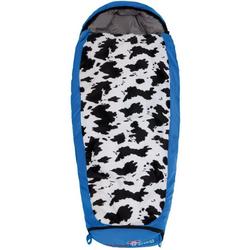 Grüezi bag Kinderschlafsack Kinder Schlafsack Mitwachsend Friendly Blue