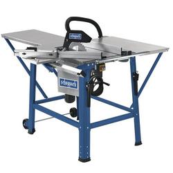 Scheppach Tischkreissäge TS310 inkl. Schiebeschlitten Maschine mit 400 V