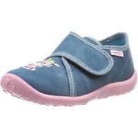 Superfit Baby Hausschuhe SPOTTY WMS Weite M3 für Mädchen Hausschuh blau 24