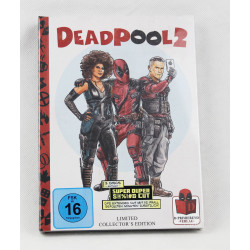 Deadpool 2 Mediabook [Blu-ray + DVD]