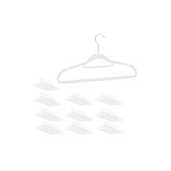 relaxdays Kleiderbügel Samt Kleiderbügel Set