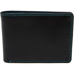 Mywalit Jeans Wallet Geldbörse Leder 11 cm black/pace
