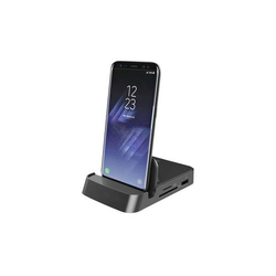 Digitus USB 3.0 Typ-C™ Smartphone Docking Station USB-C™ USB 3.0 Handy Dockingstation Schwarz